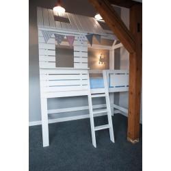 Łóżko-domek Z-drewutni Hideout