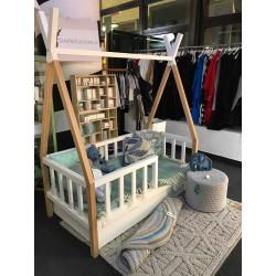 Łóżko-domek Z-drewutni TIPI