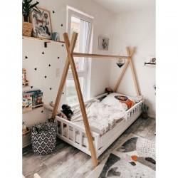 Łóżko-tipi Z-drewutni KIMI