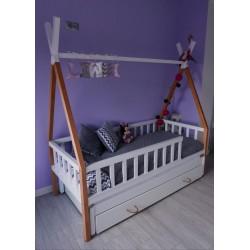 Łóżko-domek Z-drewutni TIPI+1