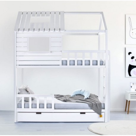 Łóżko-domek Z-drewutni Jane