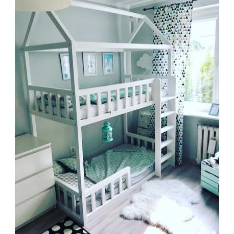 Łóżko-domek Z-drewutni Adventure Double MINI